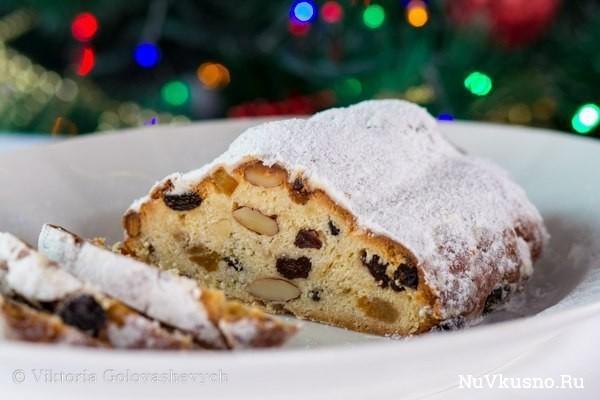 Штоллен — вкусный новогодний подарок! stollen (german christmas bread)