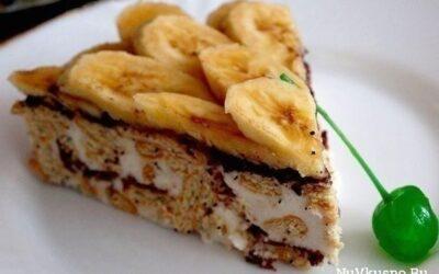 Сметанный торт из крекера