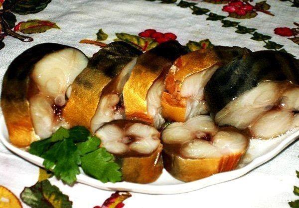Солёная, маринованная, копчёная рыбка легко
