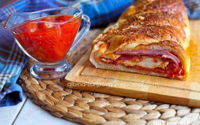 Стромболи / пицца в рулете