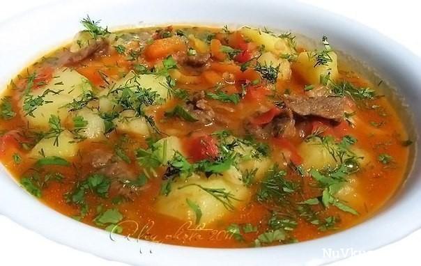 Суп «шурпа