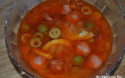 Суп — солянка