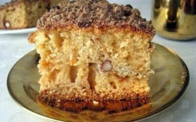 Супер пышный кекс на кефире