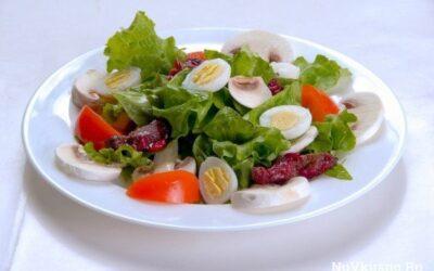 Топ-10 лёгких салатов