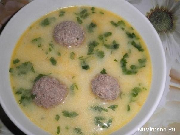 Топ-5 сырных супчиков