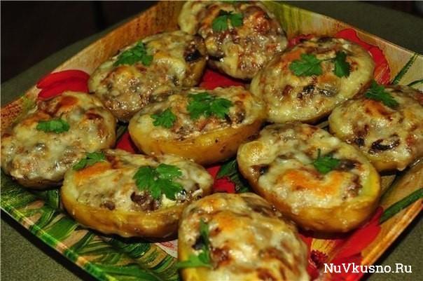 Топ-6 рецептов фаршированного картофеля