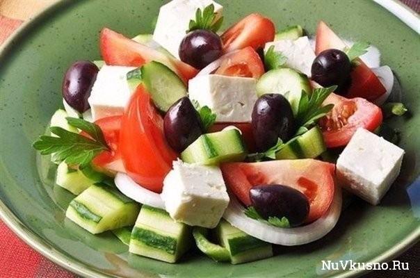 Топ-6 вкусных салатов без майонеза