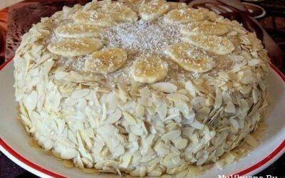 Торт «банановый