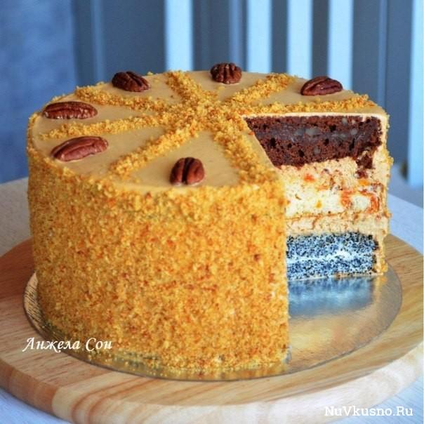 Торт «дамский каприз