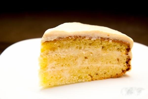 Торт домашний с творожно-яблочным кремом