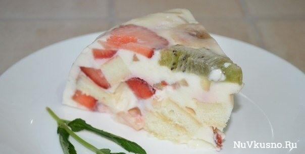 Торт «фруктовое наслаждение