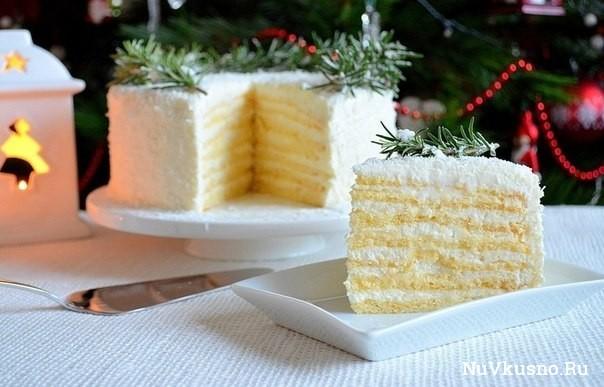 Торт «кокосовое наслаждение»