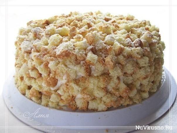 Торт «мимоза