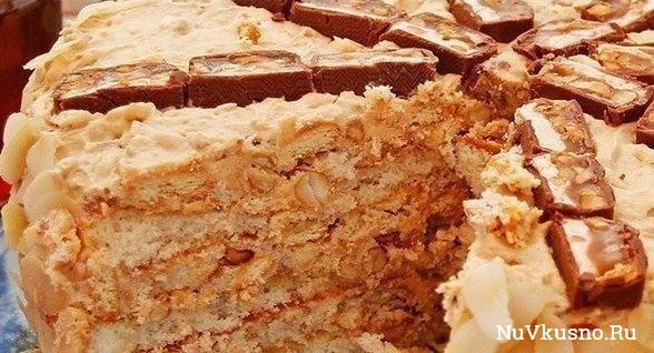 Торт «ореховое наслаждение
