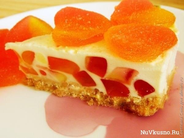 Торт-желе «нежность» торт без выпечки