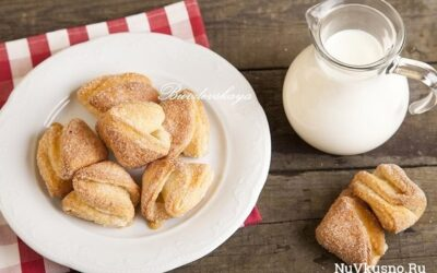 Творожное печенье «треугольнички
