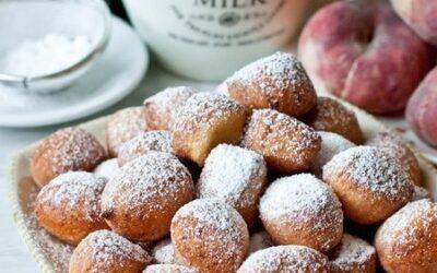 Творожные пончики на скорую руку