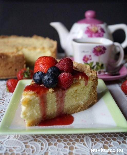 Творожный пирог а — ля чизкейк