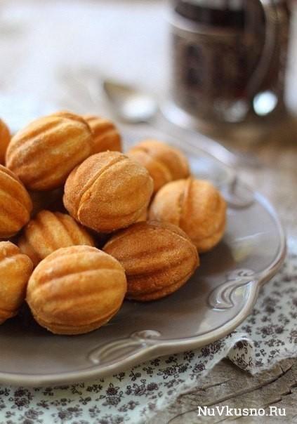 Вкус детства — печенье «орешки