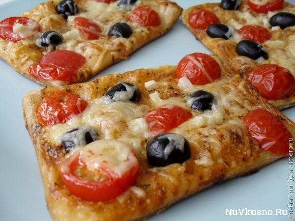 Воздушные мини-пиццы