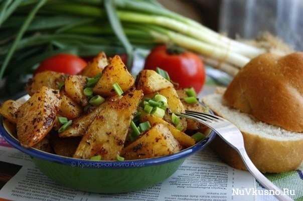 Запеченный картофель по-турецки
