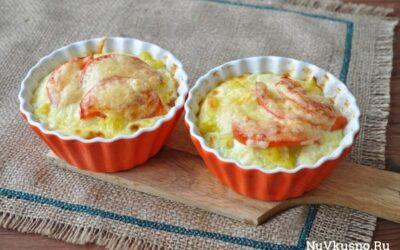 Запеканка с цветной капустой для завтрака